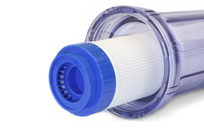 Filter voor waterverzachter